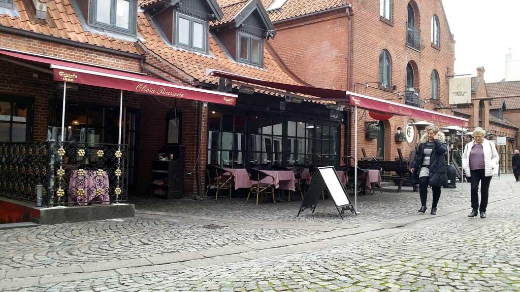 Cafe Olivia Vintapperstræde Odense